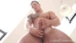 Muscle Stud Tommy Morava Jacks Off