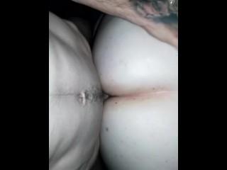 Warm creampie for pregnant girlfriend