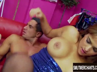 India and Valery Summer suck and fuck two hard guys after some dildo play