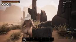 Messing around with Conan Exiles sexual Mods Episode 1 Sexy Albino