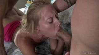 """Atlanta Freaky Swingers - Brutally Fuck Wife - With a Huge 10"""" White Cock"""