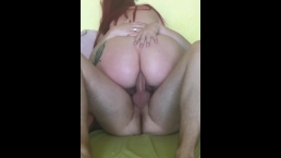 Morning anal quickie