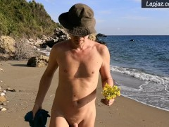 Solo Male Cock & Flower Worship Dildo Greece - Lapjaz.com Ecosexual Ecoporn