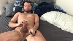 Lazy Sunday stroking my dick