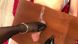 cock crush with cum