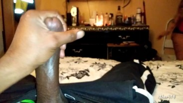 Lust God @i8her314 caught masturbating and roommate helped me finish
