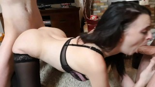I fucked my landlord and his friend to pay rent (teaser)