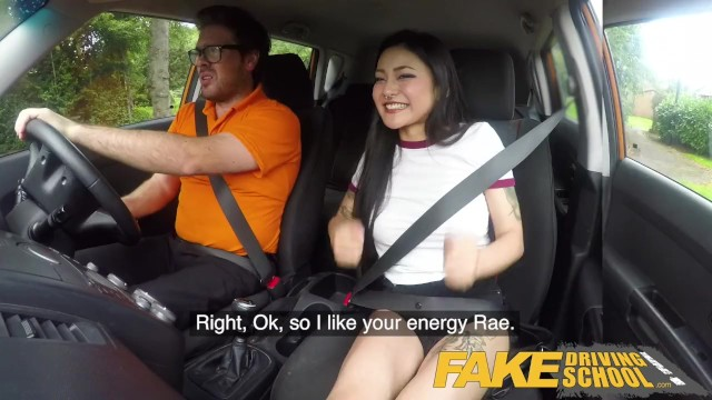 Fake Driving School Sexy Japanese Rae Lil Black Hot for ...