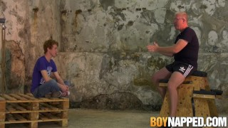 Tender Avery Monroe chained for whipping torment Rift gay