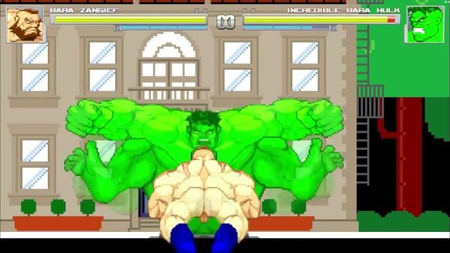 Gay Hulk porno