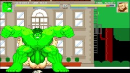 Hulk fucks Zangief