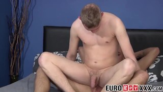 Twinkies session style anal dick have a passionate rider gay twink