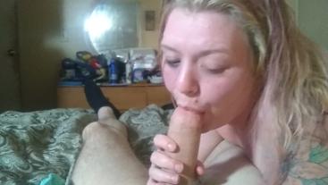 Izzy sucking J's cock