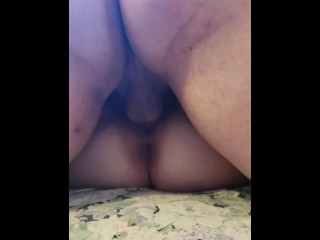 bfs best friend and bf both take a turn cumming inside my tight white pussy