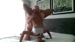 Extreme Interracial Wrestling Leads to Hard Fucking (#SEXERCISE2019)