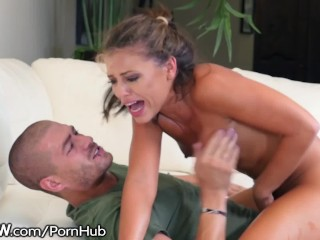 Preeclampsia And Sperm Exposure Fucking, BSkow Adriana Chechik Rough Fucked Ass to Pussy