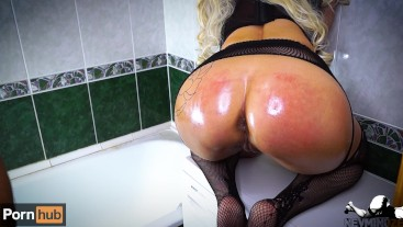boy atomized her ass like a rocket this young milf did not stop screaming