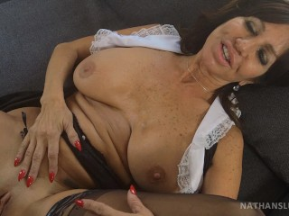 French Maid To Hire 3 Tara Holiday cleans Nathan s BBC real clean