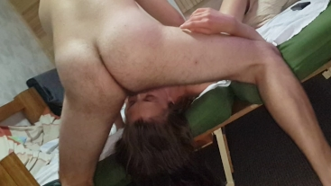 Hot scene from our REAL CUCKOLD meeting with husband friend