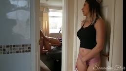 Naughty Stepdaughter 2 - I watched my stepdad fuck my sister's ass!