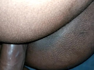 Anal intercourse cause diarrhea black girl with fat ass cums all over my dick and then i cum in her,