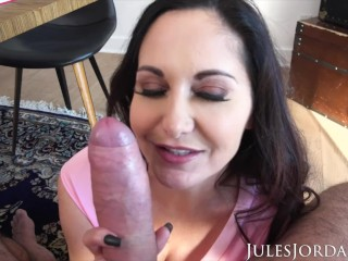 Jules Jordan – Ava Addams, Ho Ho Ho Santa Got Me Big Titties For Christmas