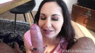 Jules Jordan - Ava Addams, Ho Ho Ho Santa Got Me Big Titties For Christmas