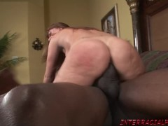 Slut StepMom goes for biggest black cock getting her pussy ruined