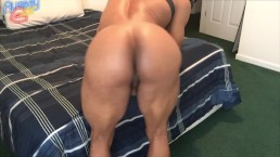 Flexible ass play and tease