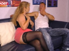 Amateur German Wife Picked up on Tinder Fucks Hardcore