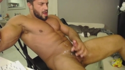 Brock Jacobs loves to jack off and cum.