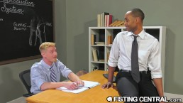 FistingCentral Interracial College Teachers Fuck & Fist In Class
