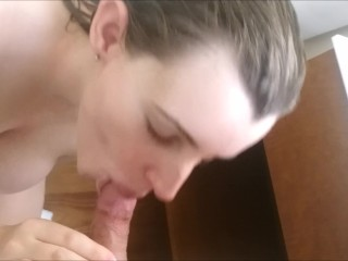 Quick BJ for Daddy