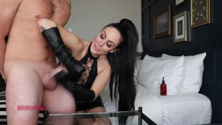 Lindsey Leigh Leather HJ CEI On Slave