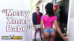 BANGBROS - Black Pornstar Kira Noir Takes Anal From Her BF Tyler Nixon