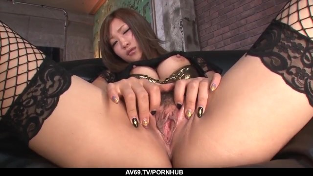 Aika Moves Amazing with Cock Deep in her Premium - more at 69avs.com