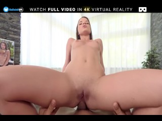 BaDoink VR Hot Teen Anita Bellini Enjoys Anal Sex