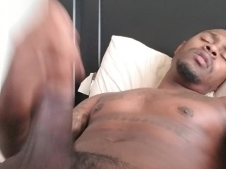 Talking dirty while I stroke this THICK DICK