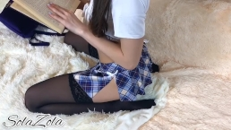 Fucked my horny stepsister after school - Solazola