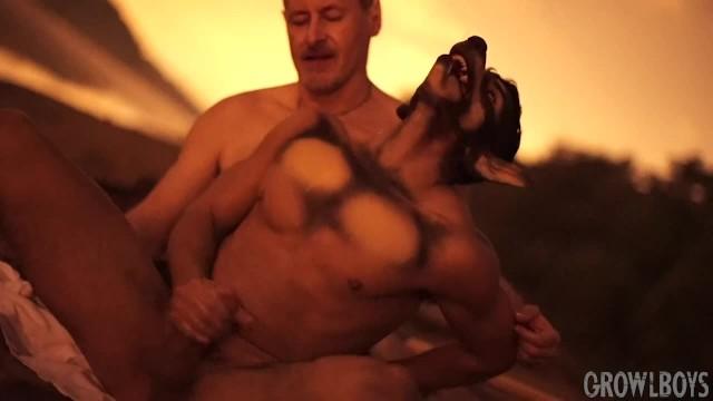 Gay furry yaoi Daddy barebacks werewolf furry - cartoon yaoi gay transformation cum inside