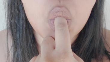 ASMR Finger Licking and Sucking