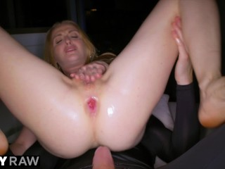 Blonde Nympho Wants video: TUSHYRAW Blonde Nympho Only Wants Anal