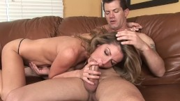 Moms hungry mouth needs a cum filling - Part 1