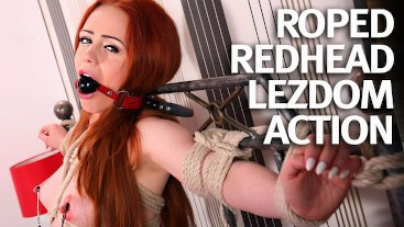 Natural Teen Redhead First Time Bound and Fucked