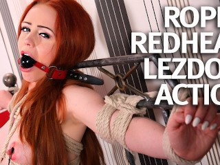 Natural Teen Redhead First Time Bound and Fucked main image