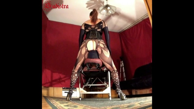 Extreme pussy whipping on torture table - Mistress sadistras massage table perversions