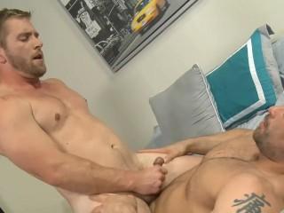 Jaxx Spreads Scott S Legs & Shoves His Tongue Into His Hole