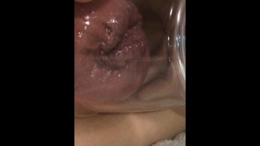 juicy pumping anal session