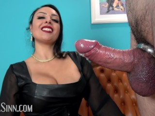 Massive ruined orgasm in new metal cockrings Preview