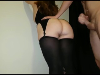 Are you the office jerk redhead pawg receives cumshot on big ass, cumshot cum redhead pawg big ass b